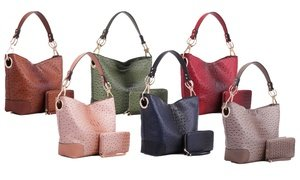 MKF Collection Dane Vegan Leather Hobo and Wallet by Mia K. Farrow