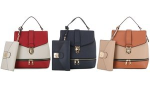 Epic Chic MKII Convertible Fashion Backpack with Wristlet