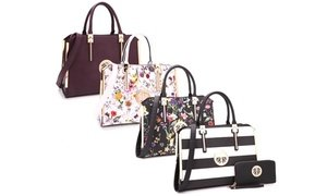 Marco M. Kelly Satchel and Wallet Sets