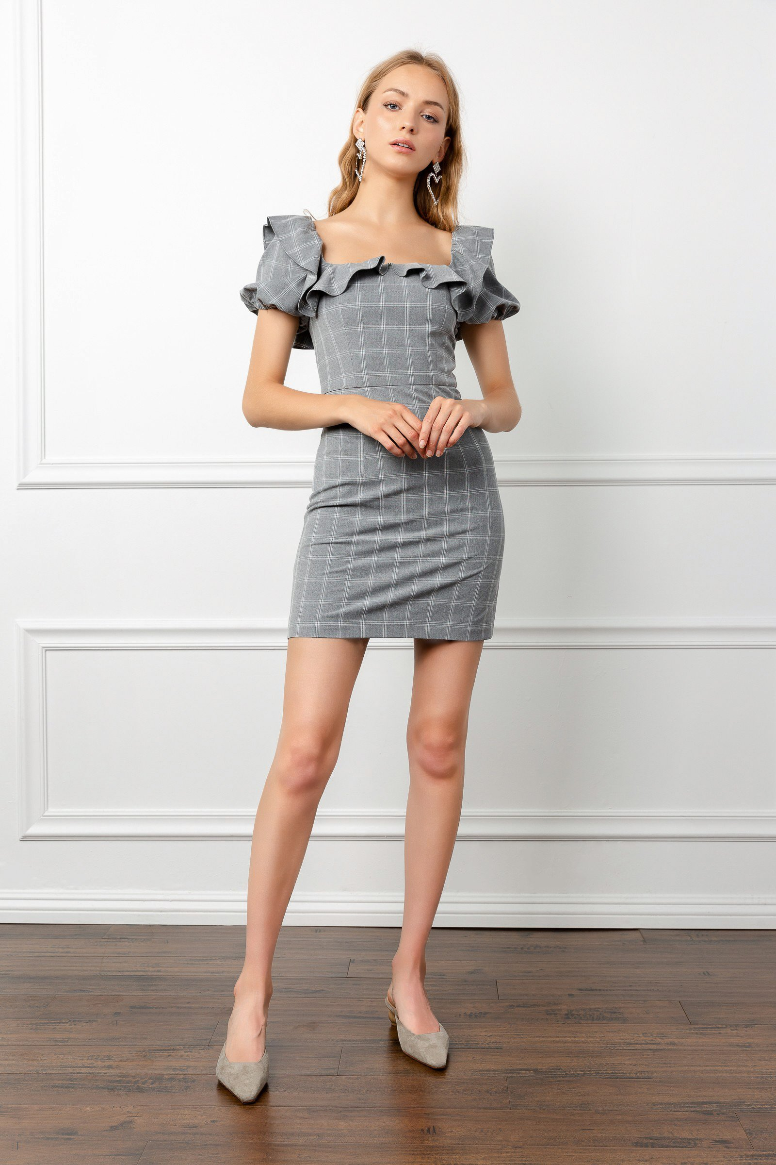 Image of Petunia Plaid Dress