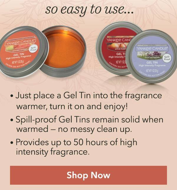 Yankee Candle Company New Gel Warmer Kit Buy 3 Get 1