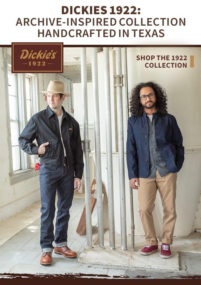 Dickies Introducing Dickies 1922 Reviving Vintage Looks Milled