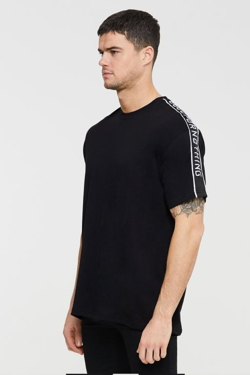 Transition Oversized Black T-shirt
