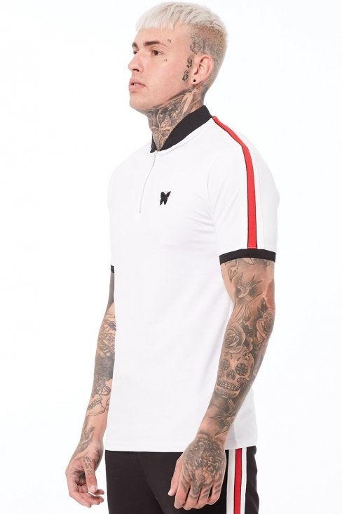 Liberty Butterfly White Polo