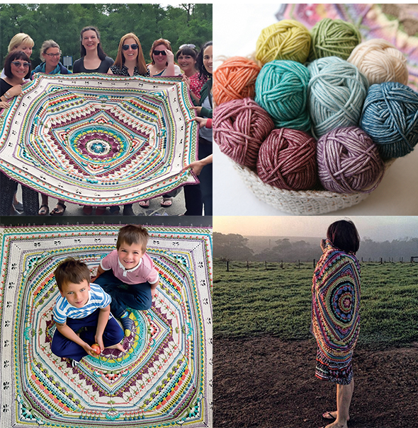 Annie's: Sophie's Universe Crochet Afghan | Available in
