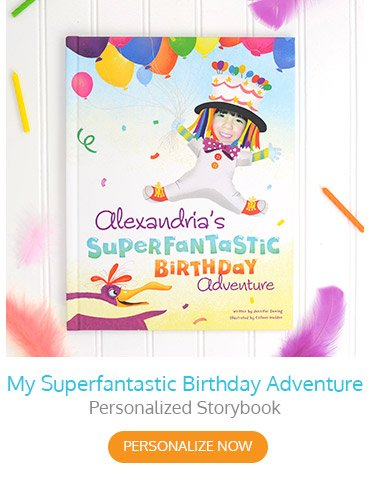 My Superfantastic Birthday Adventure Personalized Storybook