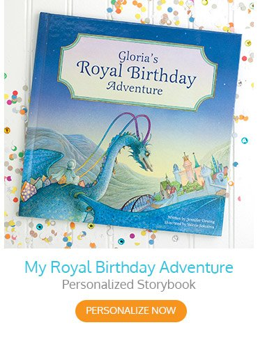 My Royal Birthday Adventure Personalized Storybook