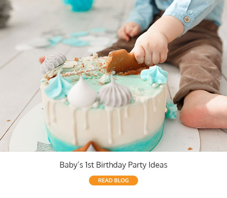Baby's 1st Birthday Party Ideas