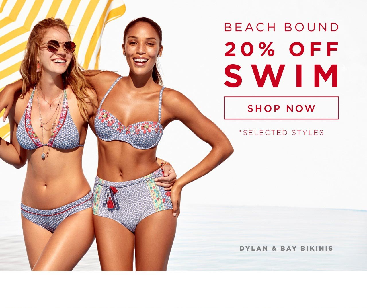 Beach Bound - 20% off Swim - Shop now. *Selected Styles - Cora Lace Front One Piece