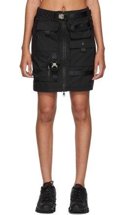 Nike - Black MMW Edition 2.0 2-In-1 Skirt