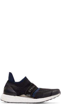 adidas by Stella McCartney - Black & Navy Parley UltraBoost X 3D Sneakers