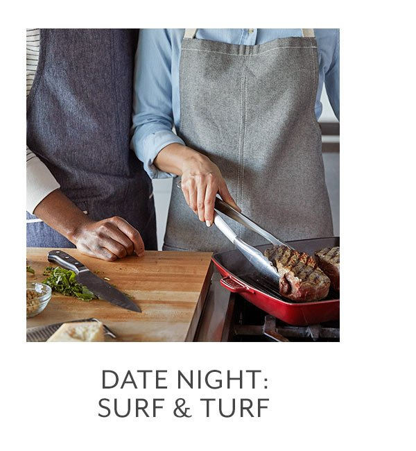 Class: Date Night • Surf and Turf