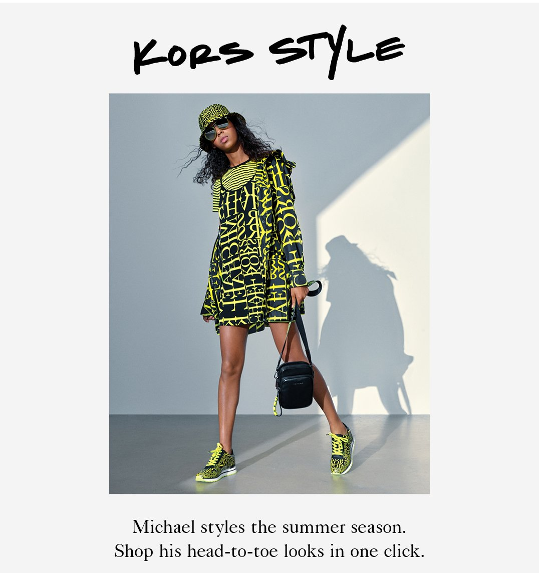 Michael Kors Have We Got News For You Milled
