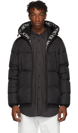 Moncler - Black Down Montcla Jacket