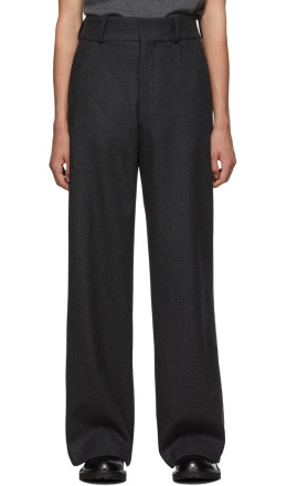 Dries Van Noten - Grey Prell Trousers