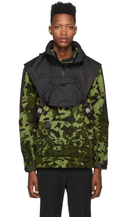 Nike - Green & Black MMW Edition NRG FLC HD Jacket
