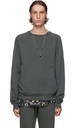Dries Van Noten - Grey Heard Sweatshirt