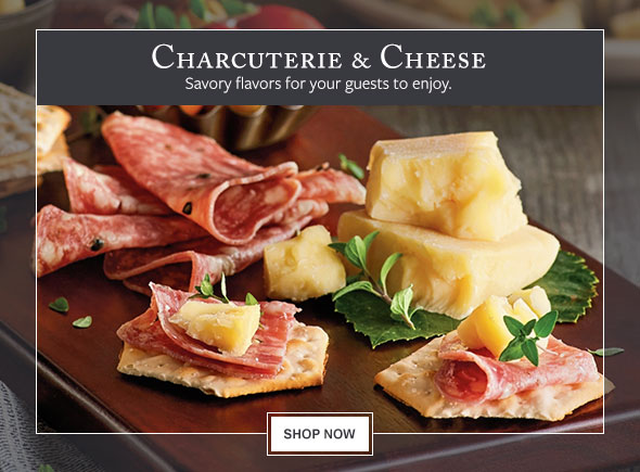 Charcuterie & Cheese - Savory flavors for your guests to enjoy.