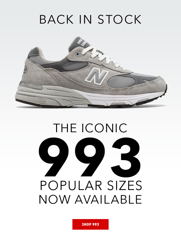 super popular d3c6d f07c6 Joe's New Balance Outlet: BACK IN STOCK: Own an Icon | Milled