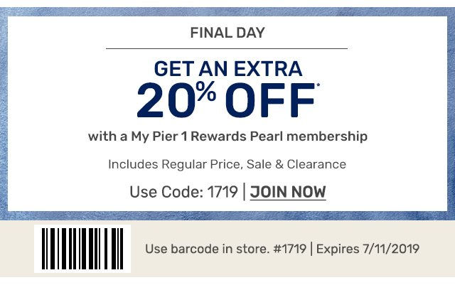 Just for pearl members, join now.
