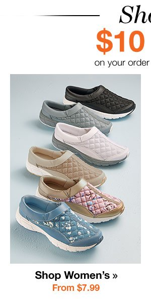Shop Women's Shoes From $7.99