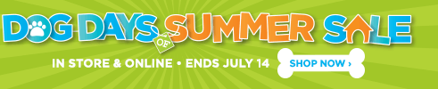 Dog Days of Summer Sale. In Store and Online. Ends July 14. Shop Now