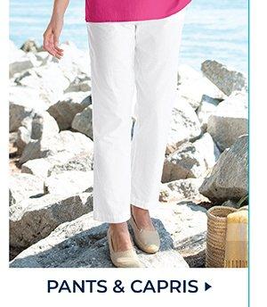 SHOP PANTS & CAPRIS