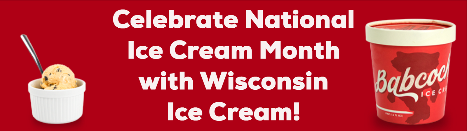 Celebrate National Ice Cream Month with Wisconsin Ice Cream!
