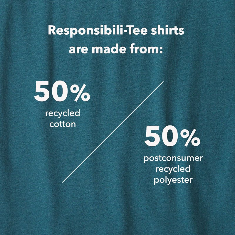 Patagonia Responsibili-Tees are made from