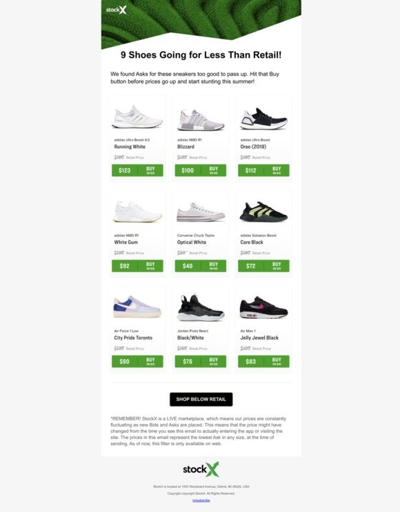StockX Holdings LLC: 32% Off Ultra Boosts & More on StockX