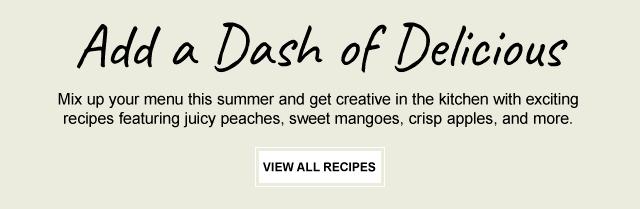 Add a Dash of Delicious