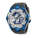 Invicta Subaqua Mens Quartz 55 mm Blue, Stainless Steel Case Silver Dial