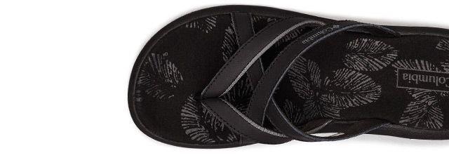 A black womens Kambi II sandal.