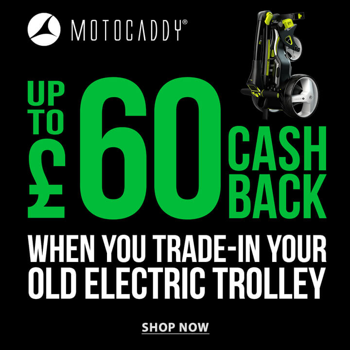 Motocaddy Cashback Offer - Shop Now