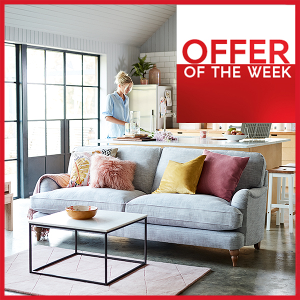 Ends Monday! Quick, get an incredible 40% off our super comfortable relaxed sit sofas and armchairs