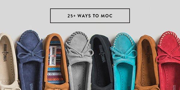 25+ WAYS TO MOC