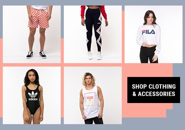Shop clothing and accessories