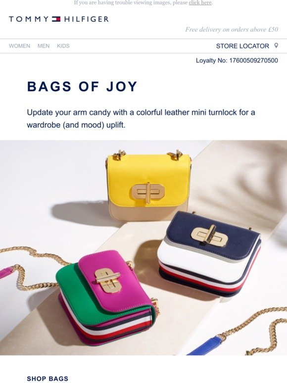 Tommy Hilfiger: Bags with purse-onality | Milled