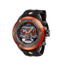 Invicta Marvel Limited Edition Star Lord Mens Quartz 52 mm Red, Black, Bronze Case Gunmetal, Copper, Red Dial