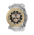 Invicta Coalition Forces Mens Quartz 51 mm Stainless Steel, Rose Gold Case Gunmetal, Light Rose Gold Dial