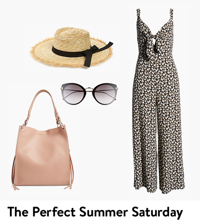 The perfect outfit for your summer Saturday.
