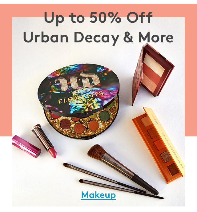 Up to 50% Off | Urban Decay & More | Makeup