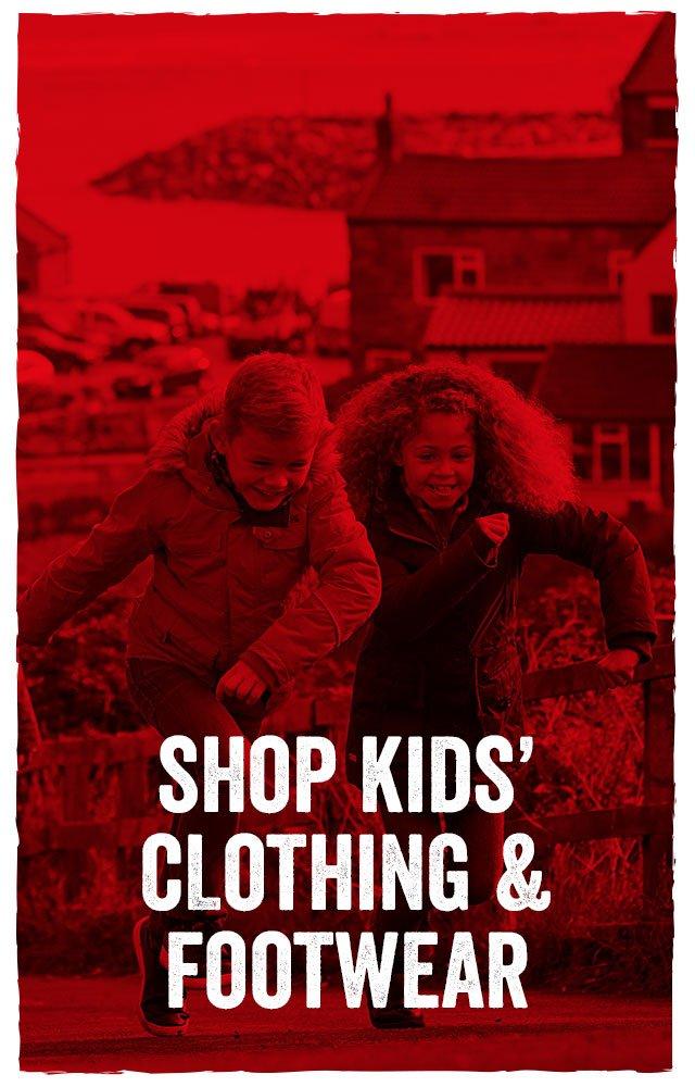 Shop Kids' Clothing & Footwear