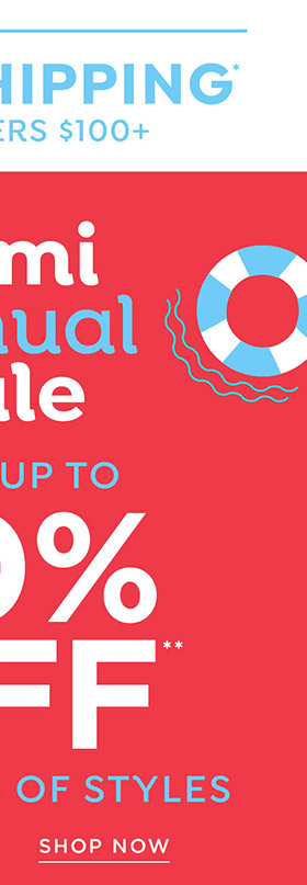 Shop Loralette Semi-Annual Sale