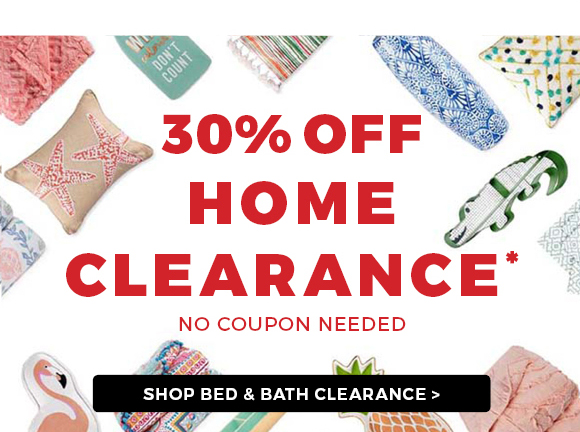 SHOP BED & BATH CLEARANCE
