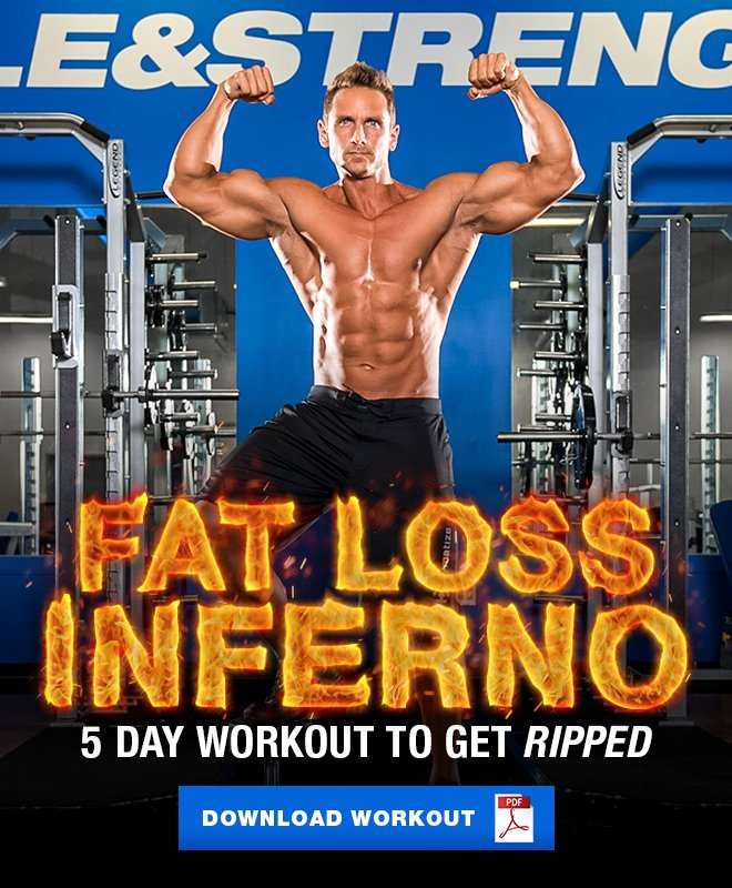 Muscle & Strength: Fat Loss Inferno: 5 Day Workout | Milled