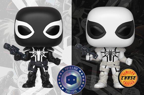 Marvel Agent Venom Funko Pop Noir Pré Commande