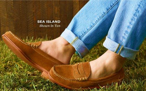 Sea Island, Shown in Tan