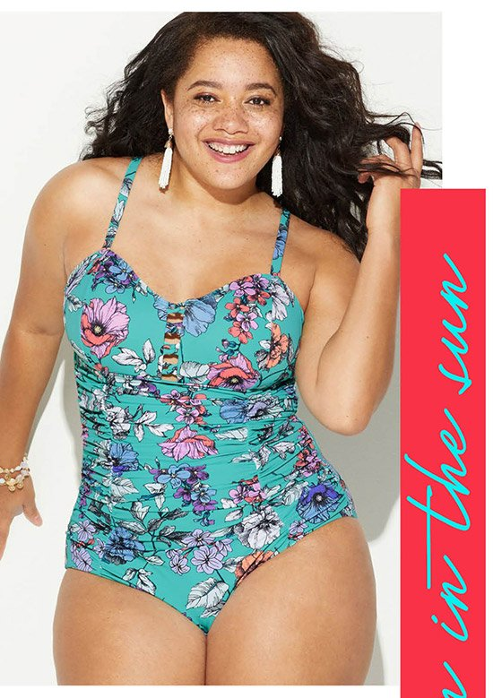 Shop Plus Size Swim