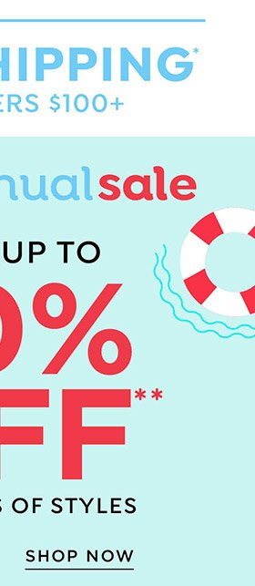 Shop Loralette Semi-Annual Sale